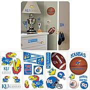University Of Kansas Peel and Stick Wall Applique