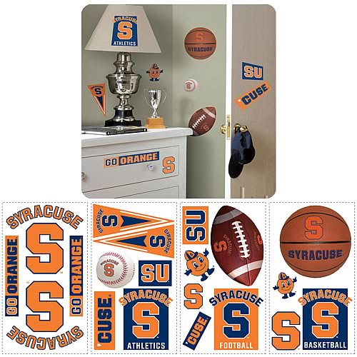 Syracuse University Peel and Stick Wall Applique