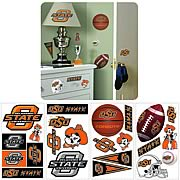 Oklahoma State University Peel and Stick Wall Applique