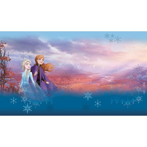 Frozen Sisters Peel and Stick Mural