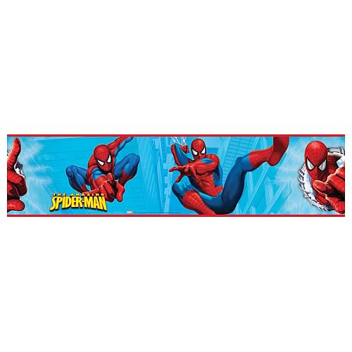 Spider-Man Peel and Stick Border Applique