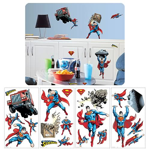 Superman Day of Doom Peel and Stick Wall Applique