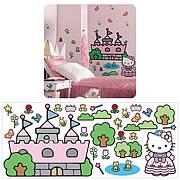 Hello Kitty Princess Castle Giant Mural
