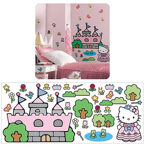 Hello Kitty Princess Castle Giant Mural