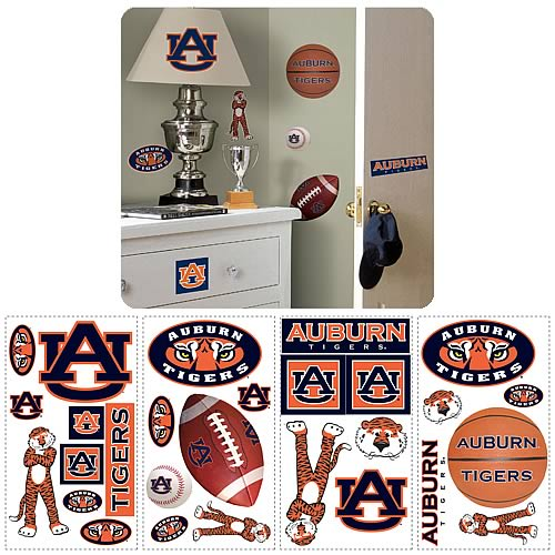 University Of Auburn Peel and Stick Wall Applique