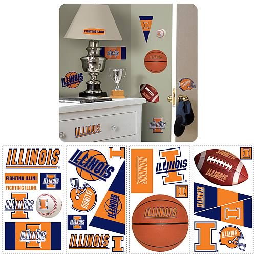University_Of_Illinois_Peel_and_Stick_Wall_Applique