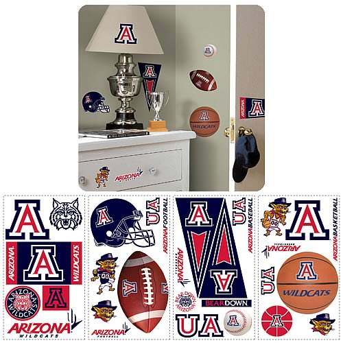 University Of Arizona Peel and Stick Wall Applique