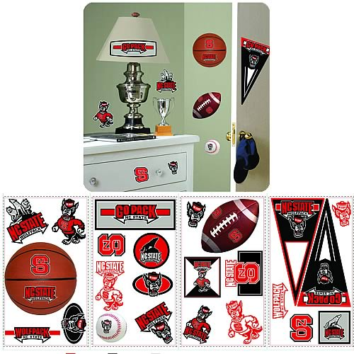 North Carolina State University Peel and Stick Wall Applique