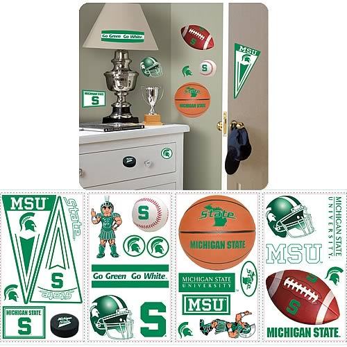 Michigan State University Peel and Stick Wall Applique