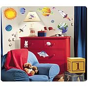 Outer Space Peel and Stick Wall Appliques