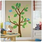 Dotted Tree Peel and Stick Wall Appliques