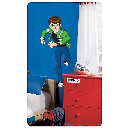 Ben 10 Alien Force Peel and Stick Giant Wall Applique