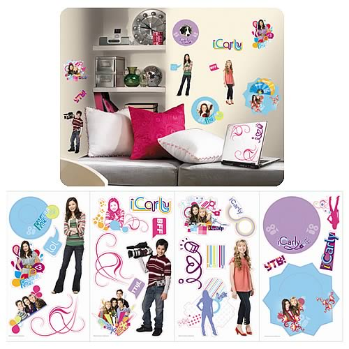 iCarly Peel and Stick Appliques