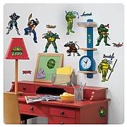 Teenage Mutant Ninja Turtles Peel and Stick Wall Applique