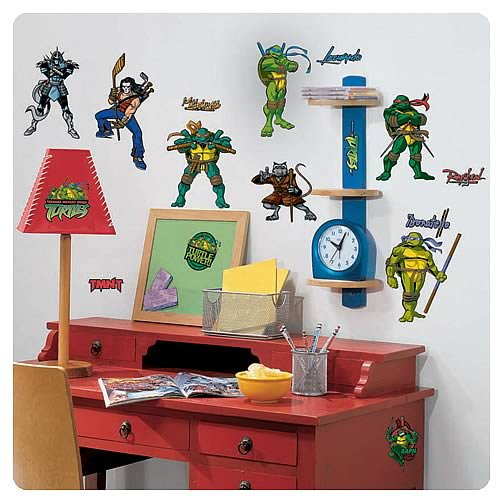 Teenage Mutant Ninja Turtles Peel and Stick Wall Applique