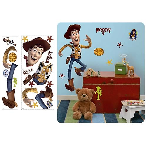 Toy Story Woody Giant Peel and Stick Wall Applique