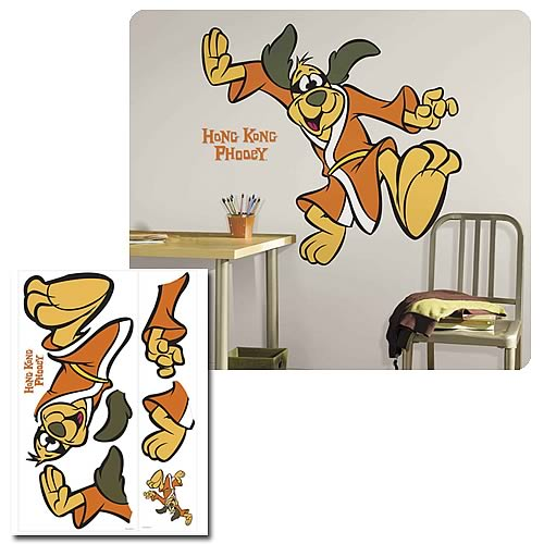 Hanna Barbera Hong Kong Phooey Giant Wall Applique