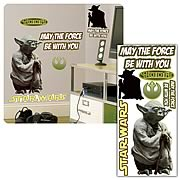 Star Wars Classic Yoda Peel and Stick Giant Wall Applique