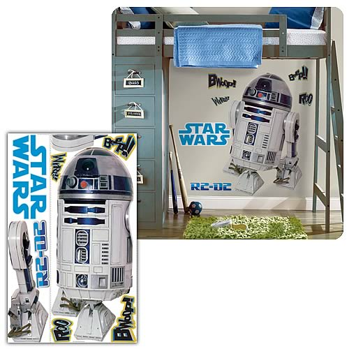 Star Wars Classic R2-D2 Peel and Stick Giant Wall Applique