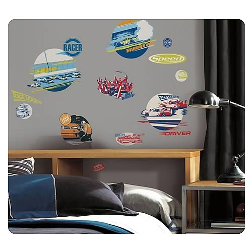 NASCAR Peel and Stick Wall Decals