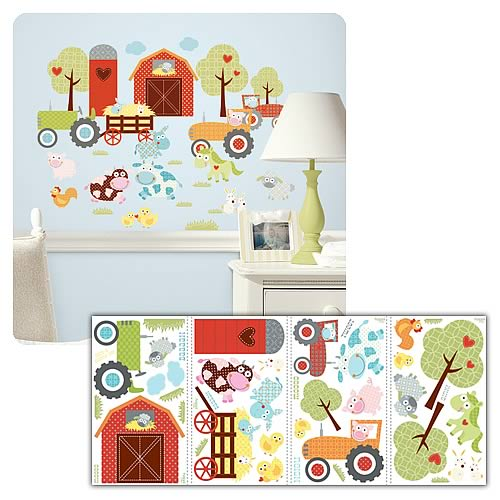 Happi Barnyard Peel and Stick Wall Decals