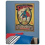 Superman Issue #1 Comic Book Peel and Stick Decal