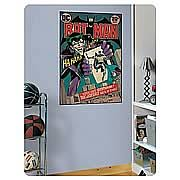 Batman Joker Issue Comic Book Cover Peel and Stick Decal