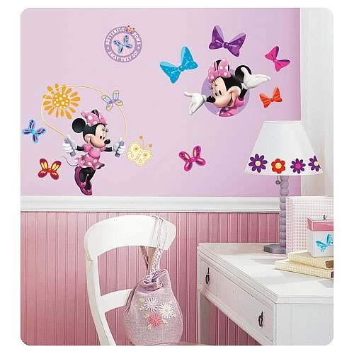 Mickey Mouse & Friends Minnie Bow-Tique Wall Decals