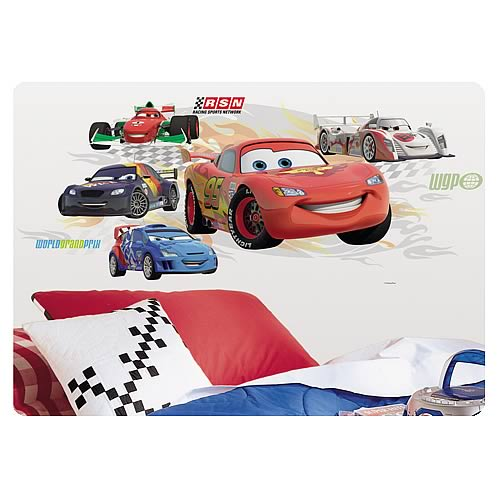 Cars Lightning McQueen Collage Wall Sticker
