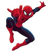 Ultimate Spider-Man Cartoon Peel and Stick Giant Wall Decal