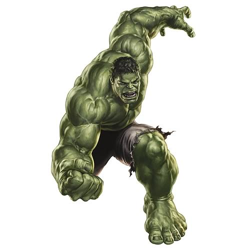 Avengers Hulk Peel and Stick Giant Wall Decal