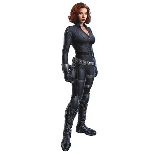 Avengers Black Widow Peel and Stick Giant Wall Decal