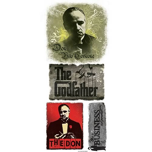 Godfather Vito Corleone Giant Peel and Stick Wall Decal