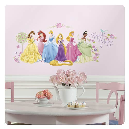 Disney Princesses Glow Within Princess Wall Decals