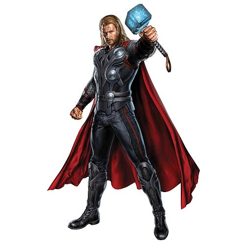 Avengers Thor Peel and Stick Giant Wall Decal
