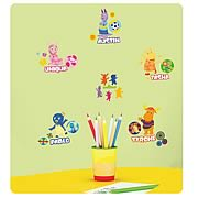 Backyardigans Peel and Stick Wall Decals