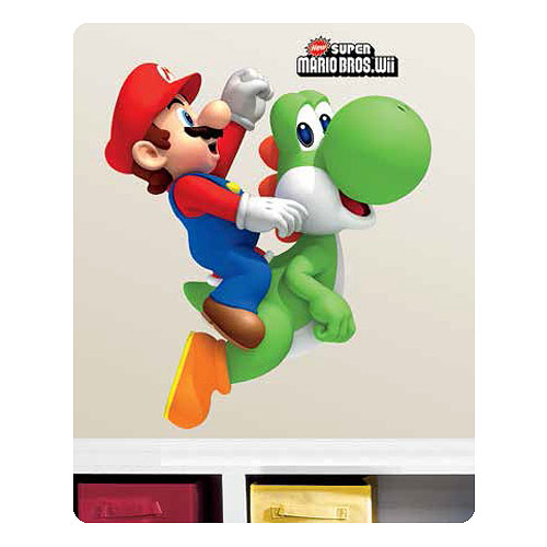 Super_Mario_Bros_Mario_on_Yoshi_Peel_and_Stick_Giant_Wall_Decal