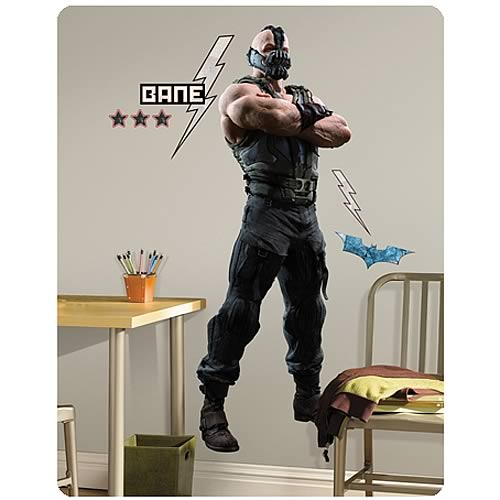 Batman Dark Knight Rises Bane Giant Wall Decal