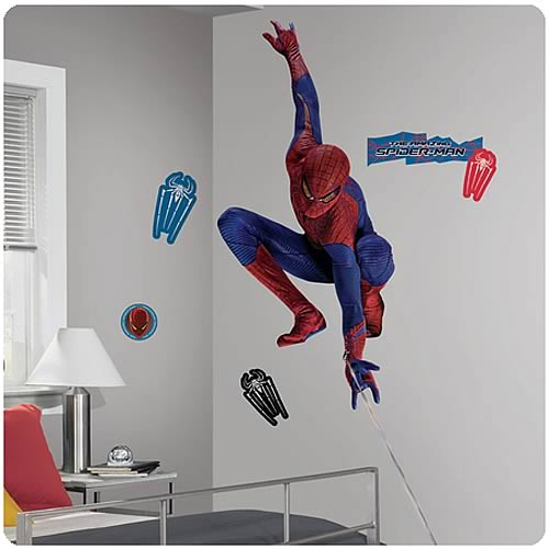 Amazing Spider-Man Movie Webslinger Giant Wall Decal