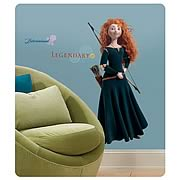 Brave Merida Peel and Stick Giant Wall Decal