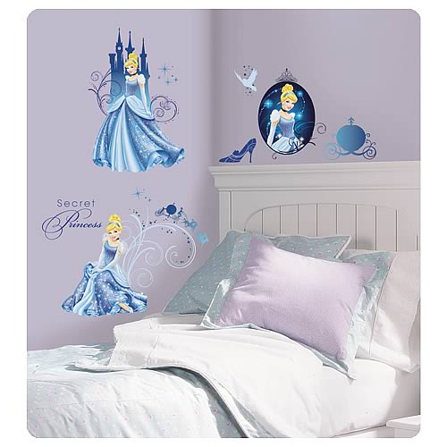 Disney Princess Cinderella Glamour Wall Decals