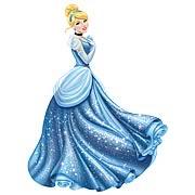 Disney Princess Cinderella Glamour Giant Wall Decal