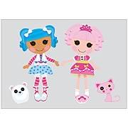 Lalaloopsy Peel and Stick Giant Wall Decals