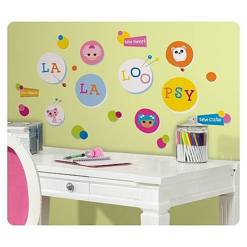 Lalaloopsy Polka Dots Peel and Stick Wall Decals