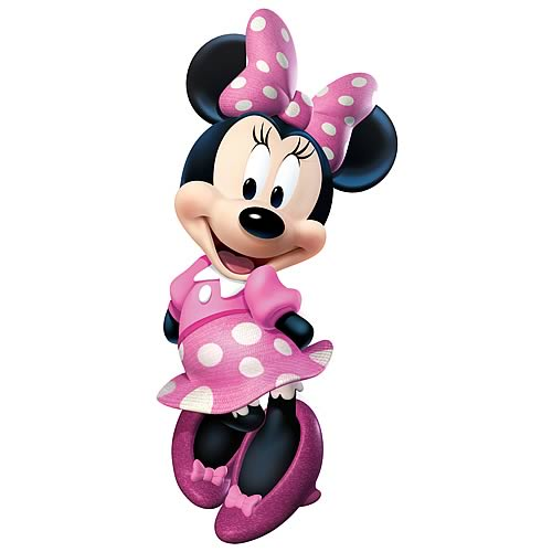 Minnie Mouse Bow-Tique Peel and Stick Giant Wall Decal