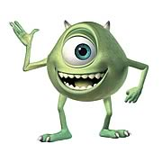 Monsters Inc. Mike Wazowski Giant Peel and Stick Wall Decal