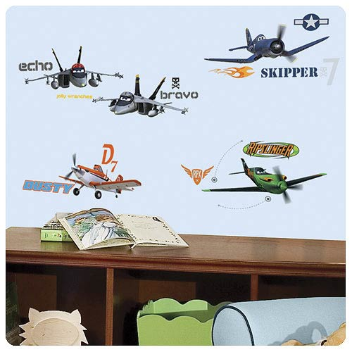 Planes Peel and Stick Wall Decal