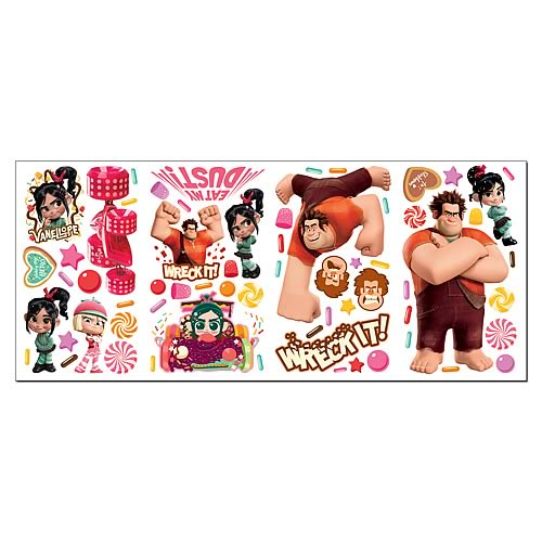 Wreck-It Ralph Peel and Stick Wall Decals