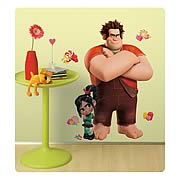 Wreck-It Ralph and Vanellope Giant Peel and Stick Wall Decal
