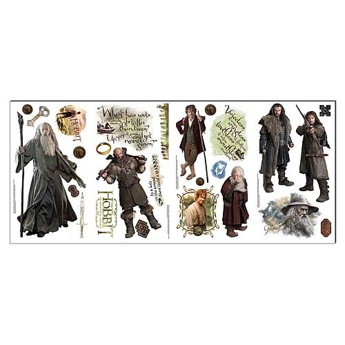 Hobbit An Unexpected Journey Peel and Stick Wall Decals